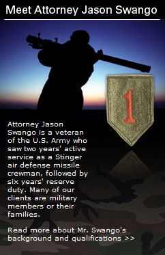 soldier and shield representing that Jason Swango represents men only in divorce cases in virginia beach